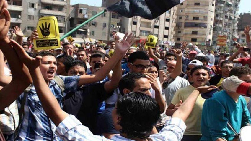 خطابون وباطل في مسيرات رافضي الانقلاب بالعمرانية