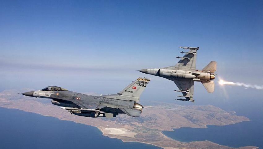 سلاح الجو التركي يدمر 4 مبانٍ لداعش شمالي سوريا