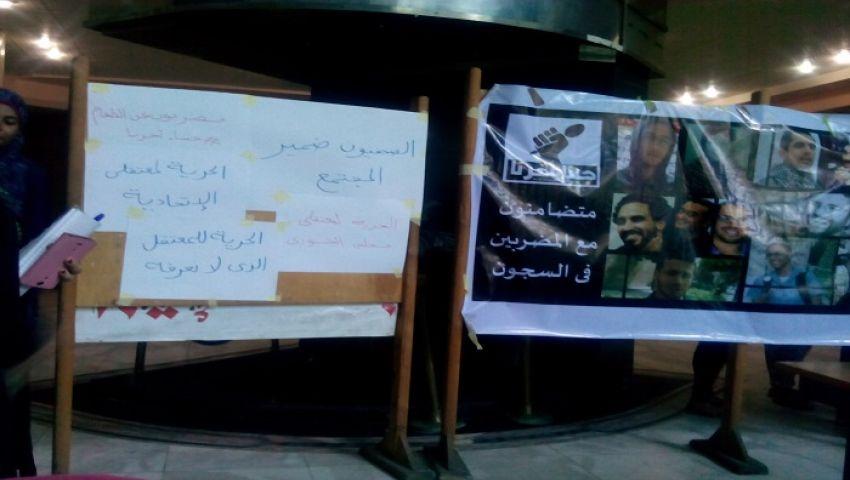 البلشي يشارك في إضراب الصحفيين لإسقاط قانون التظاهر