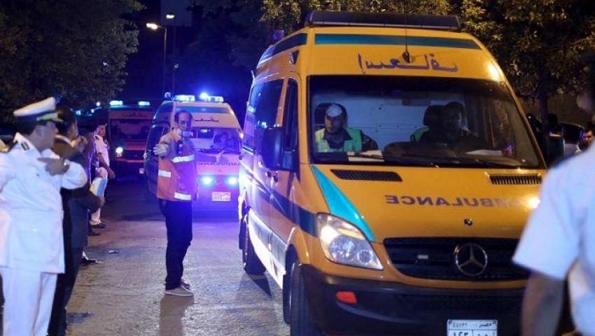 بالأسماء.. إصابة 7 أشخاص بحادث تصادم في البحيرة