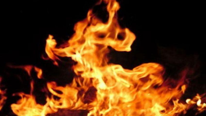 ضبط وإحضار المتهم بحرق مصر القوية بالوراق