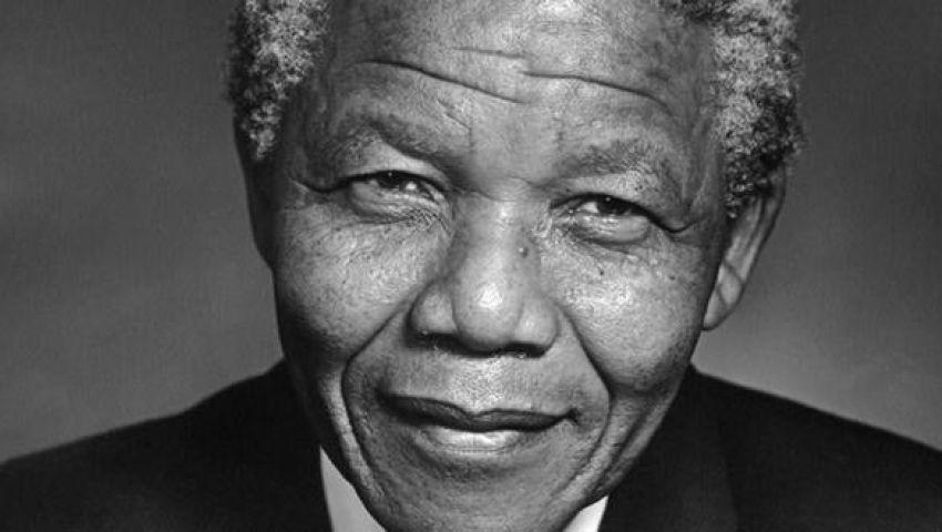 مانديلا يتوقف عن الكلام
