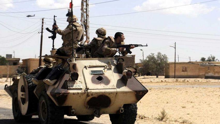 مقتل 4 عسكريين في هجوم على كمين للجيش بوسط سيناء