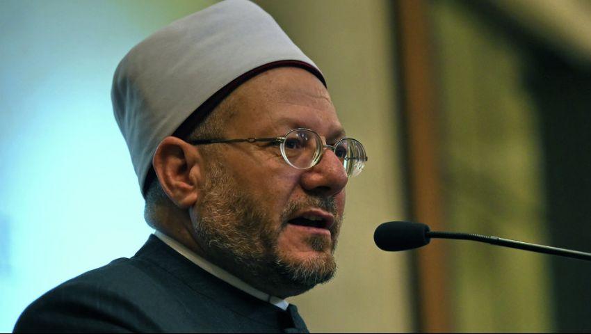 مفتي الجمهورية: الشماتة في تفجيري مارجرجس والمرقسية حرام شرعًا