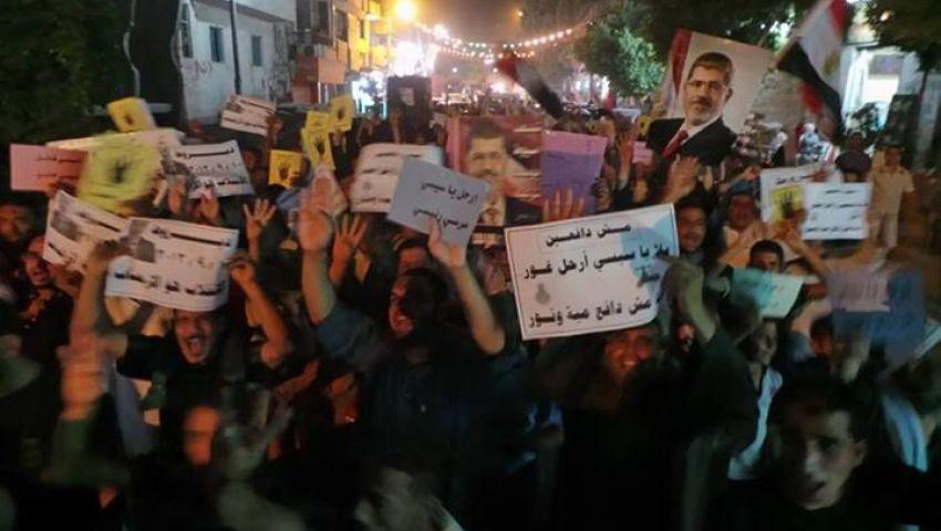 4 مسيرات ليلية لجماعة الإخوان بأسيوط