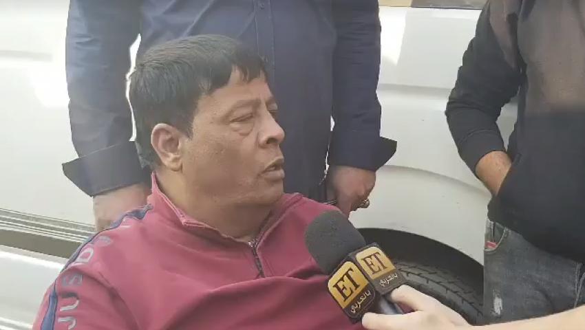فيديو| ماذا قال عبد الباسط حمودة عن شعبان عبد الرحيم في جنازته؟
