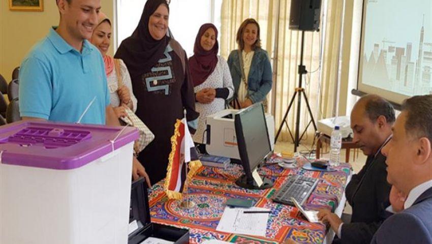 بـ124 دولة.. المصريون بالخارج يصوتون على تعديل الدستور 2019