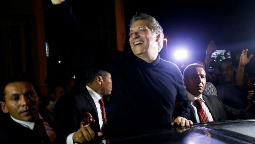 رئاسيات تونس| شاهد.. القروي خارج السجن ويتعهد «لا تحالف مع النهضة»