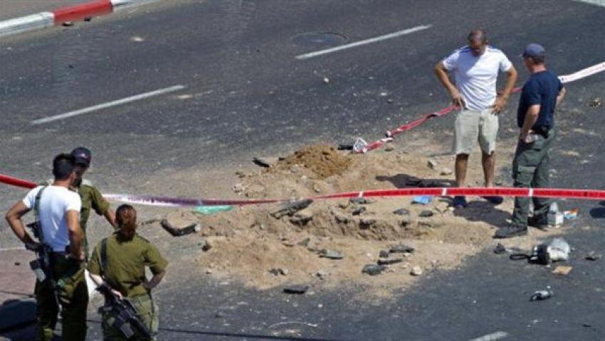 إصابة 5 إسرائيليين أحدهم في حالة خطيرة جراء قذيفة من غزة