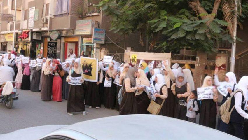 اعتقال 6 من طالبات ضد الانقلاب بقنا