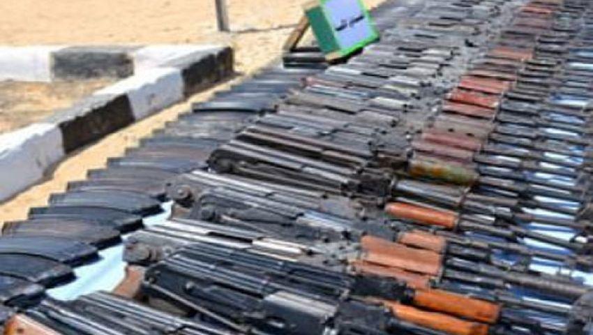 مداهمة ورشة لتصنيع الأسلحة بحدائق القبة