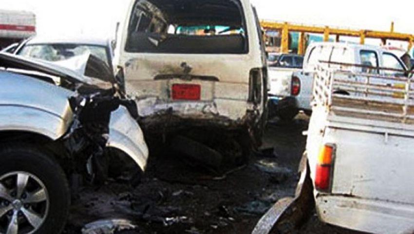 مصرع 3 وإصابة 5 في حادث تصادم بسوهاج