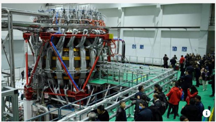 10 أضعاف حرارة الشمس.. الصين تطلق مفاعلًا نوويًا يغير مستقبل الطاقة العالمية