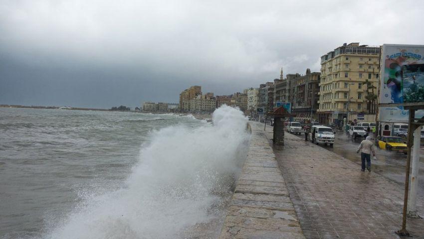 أخبار الطقس ودرجات الحرارة اليوم بالإسكندرية