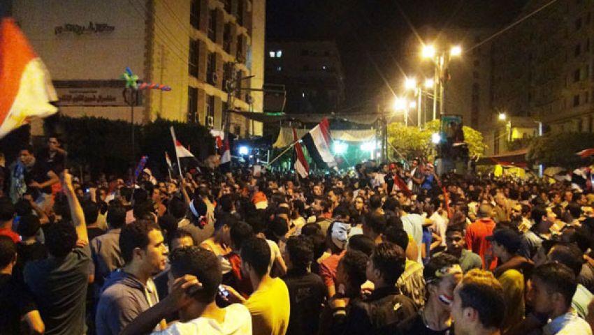 الشرطة ببركة السبع تنضم للمظاهرات المعارضة لمرسي