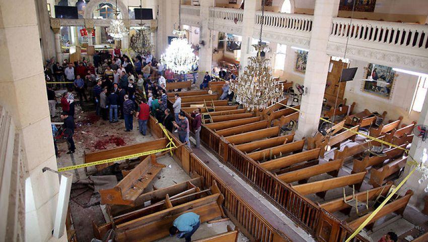مصادر: البابا تاوضروس يشارك في قداس جنازة ضحايا مار جرجس
