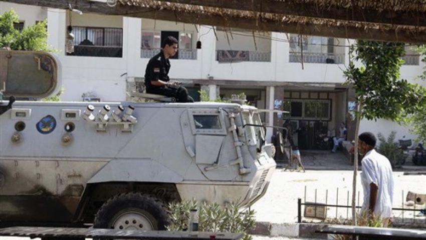 القبض على 13 شخصاً حاولوا اقتحام مبنى المخابرات بالمنيا