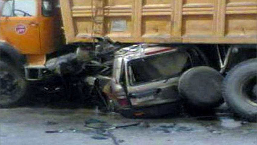 7 حوادث بـإسكندرية الصحراوي والشرطة توقف المقطورات