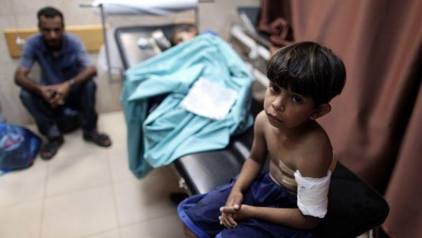 تعليق العمل بمشفى الدرة شرق غزة بعد قصفه