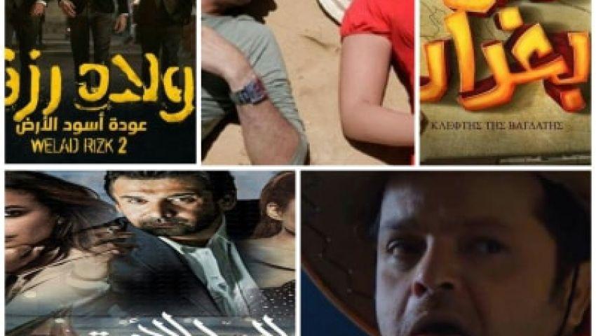 عز وكريم وهنيدي وإمام وحلمي.. المنافسة قوية في عيد الأضحى 2019
