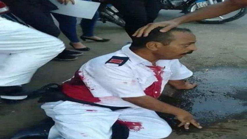 فيديو|هكذا تعاطف المصريون مع أمين شرطة قتل على يد مهتز نفسيًا بالزمالك