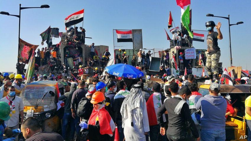 إذاعة أمريكية: في العراق.. الحكومة الجديدة  لن ترضي المتظاهرين
