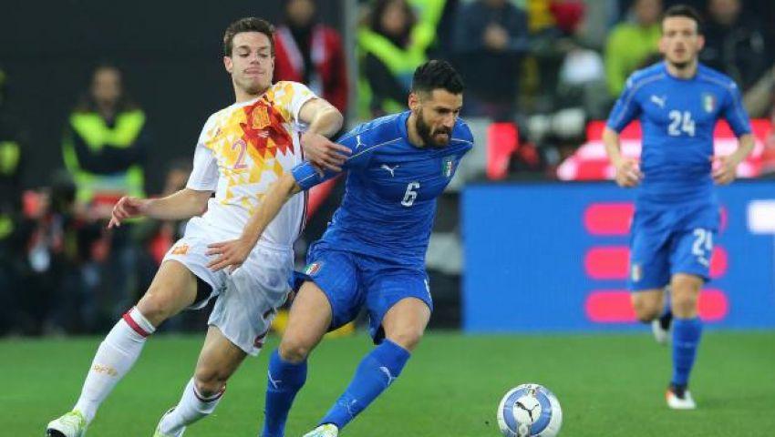 مواجهات سهلة لإسبانيا وإيطاليا بتصفيات كأس العالم