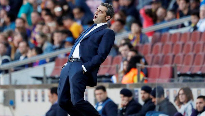 برشلونة يستعد لإقالة فالفيردي وينتظر مدرب بلجيكا