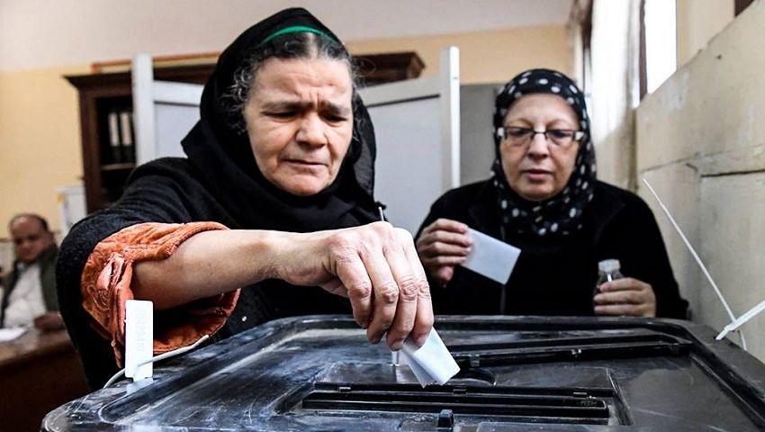 بالصور| اليوم الأول للاستفتاء على التعديلات الدستورية.. إقبال كثيف وشكاوى غير مؤثرة