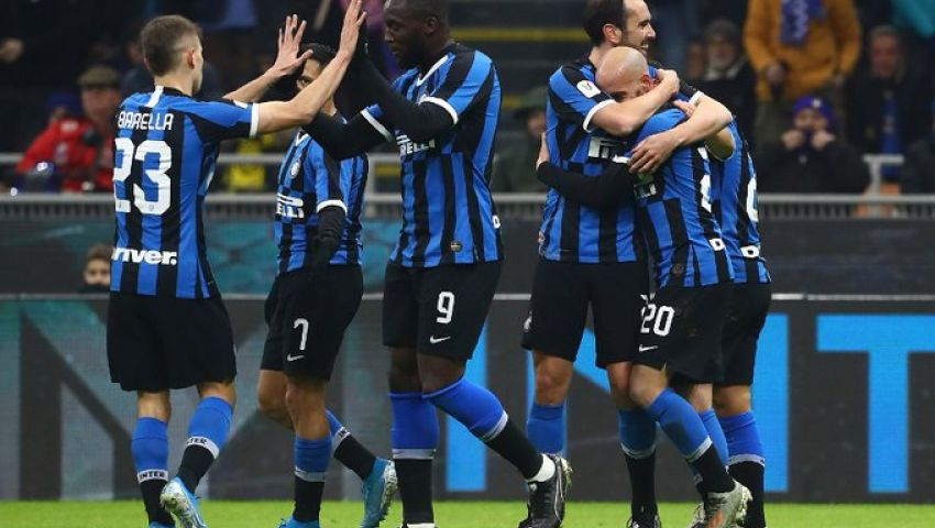 فيديو| إنتر ميلان ينتزع بطاقة التأهل لربع نهائي كأس إيطاليا