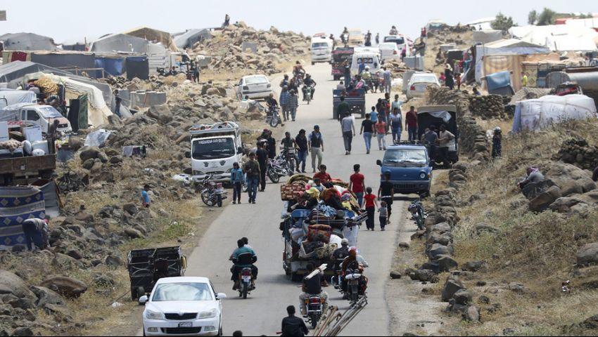احتدام القتال يُزيد معدلات النزوح في شمال غرب سوريا