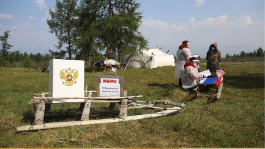 في روسيا.. «مراكز الاقتراع»..  الأكثر غرابة  في العالم