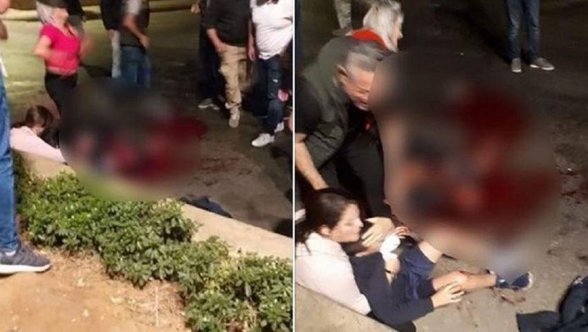 فيديو| غليان في الشارع اللبناني.. مقتل متظاهر برصاص الجيش أمام زوجته وأبنه