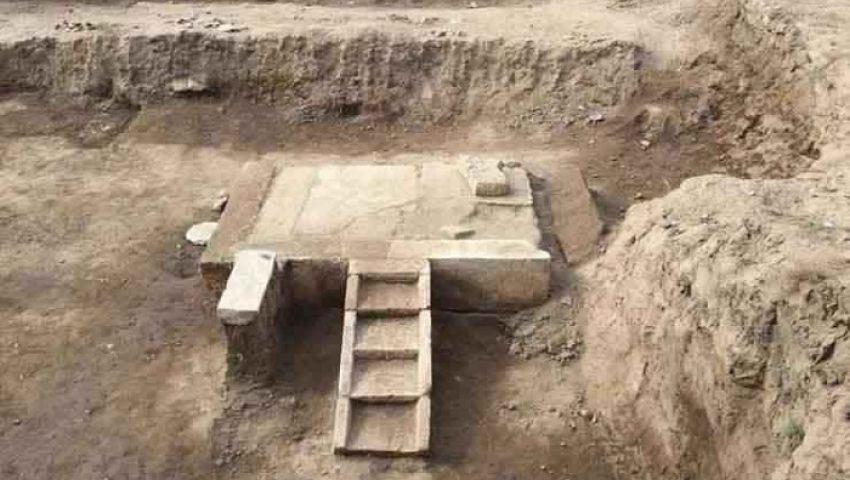 بالصور| «الآثار» تعلناكتشاف مقصورة احتفالات «رمسيس الثاني» كاملة في المطرية