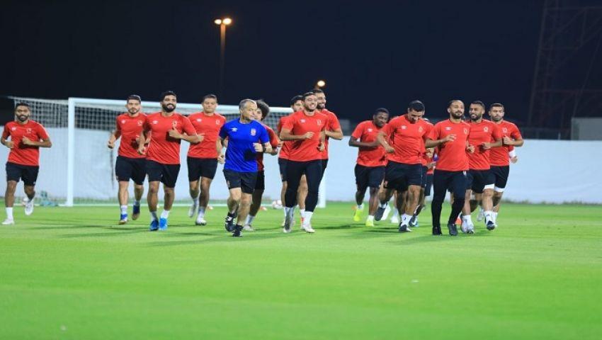 ثلاثي أهلاوي يبحث عن الفرصة في معسكر الإمارات