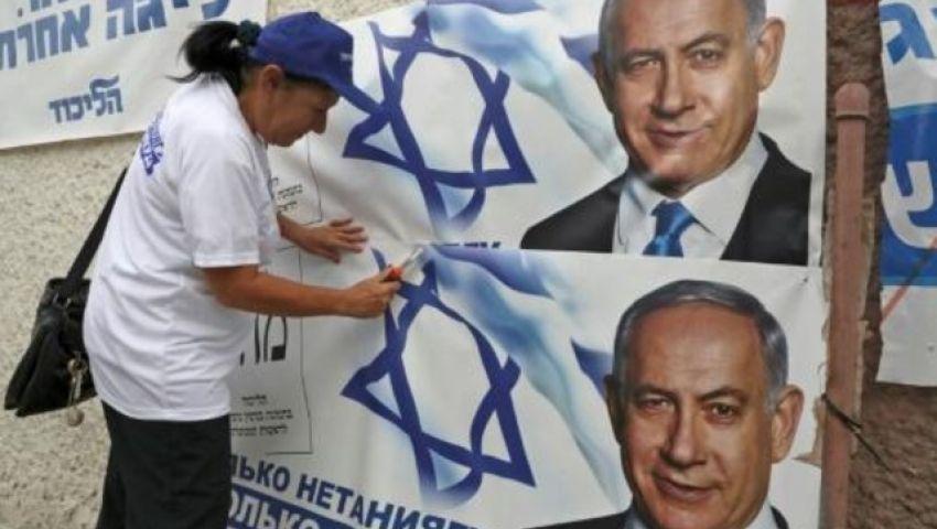 عشية الانتخابات.. نتنياهو وخصمه يأملان في مستقبل جديد