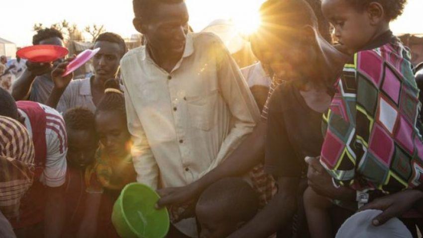 بالصور| لاجئات إثيوبيا.. شردتهن الحرب وجمعتهن الأمومة
