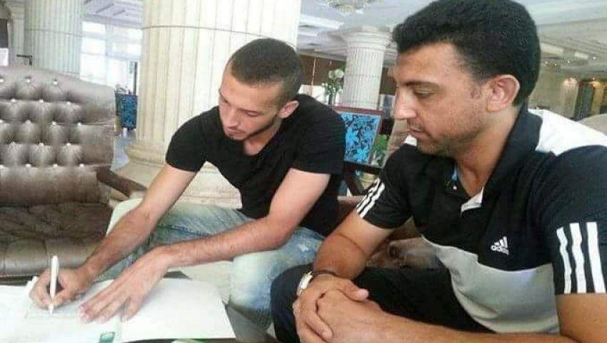المصري يحصل على توقيع حارس المحلة