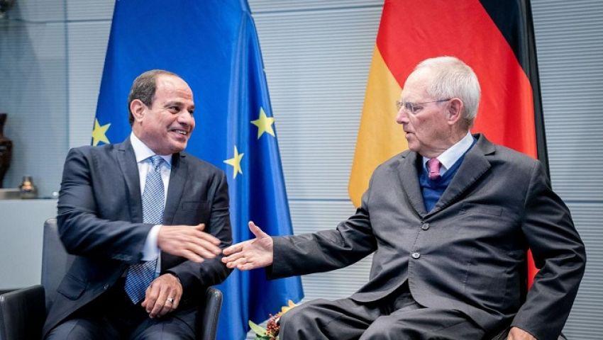شبكة ألمانية: زيارة السيسي لبرلين لاجتذاب الاستثمار الألماني  إلى مصر