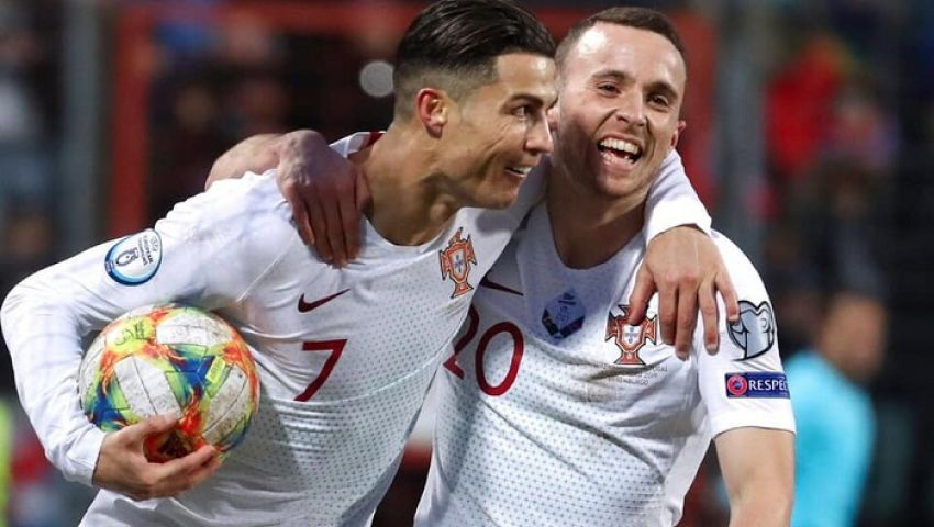 فيديو.. كريستيانو يقود البرتغال لتخطي لوكسمبورج بثنائية والتأهل لليورو