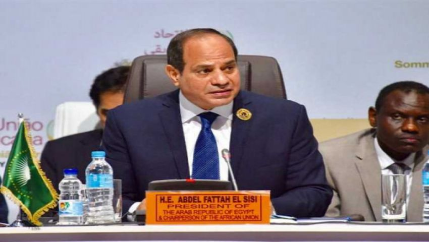 السيسي يدعو لتفعيل اتفاقية التجارة الحرة الأفريقية لتعزيز الاندماج