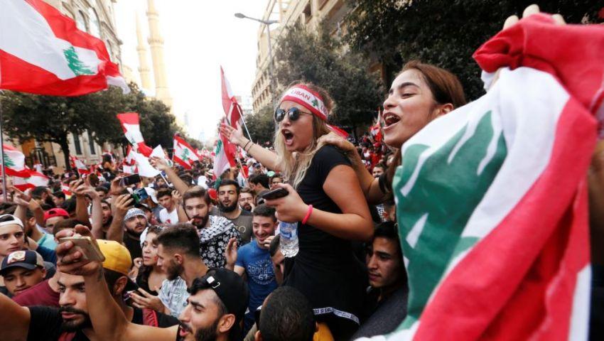 فيديو| أول تعليق من الرئيس اللبناني على تظاهرات أحد الوحدة