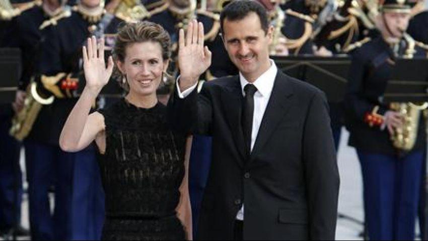 الأسد وأسرته وكبار ضباطه في غرف سرية تحت الأرض