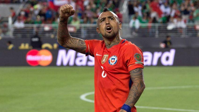 التشكيل| فيدال يعود لتشيلي أمام فنزويلا