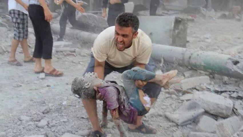 انتشال سبعة شهداء من خزاعة شمال قطاع غزة