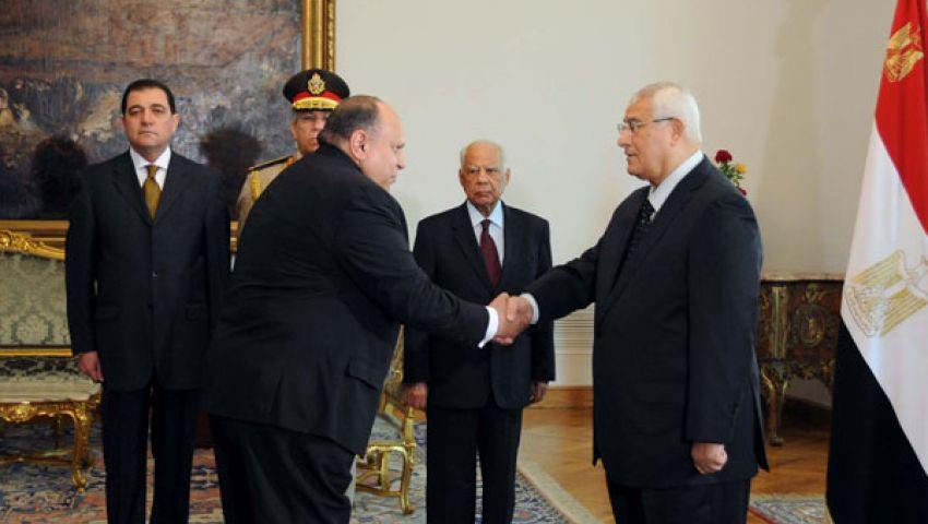 هاني عبد المجيد يؤدي اليمين وزيرا للتنمية الإدارية