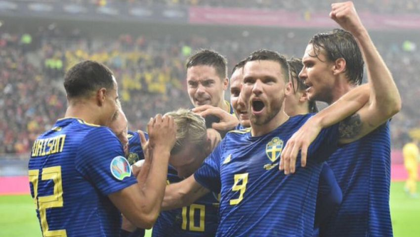 فيديو| السويد تتغلب على رومانيا وتتأهل لـ «يورو 2020»