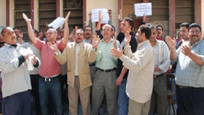 موظفو الجامعة العمالية يواصلون الاعتصام ويطالبون بالاستقلال