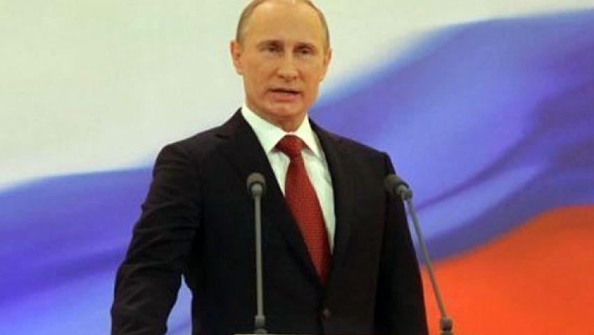 الرئيس الروسي يحذر من حرب أهلية في مصر