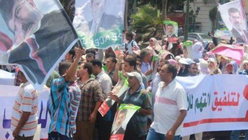 الإسكندرية: معارضو مرسي يمنعون مسيرة أنصاره بـراغب